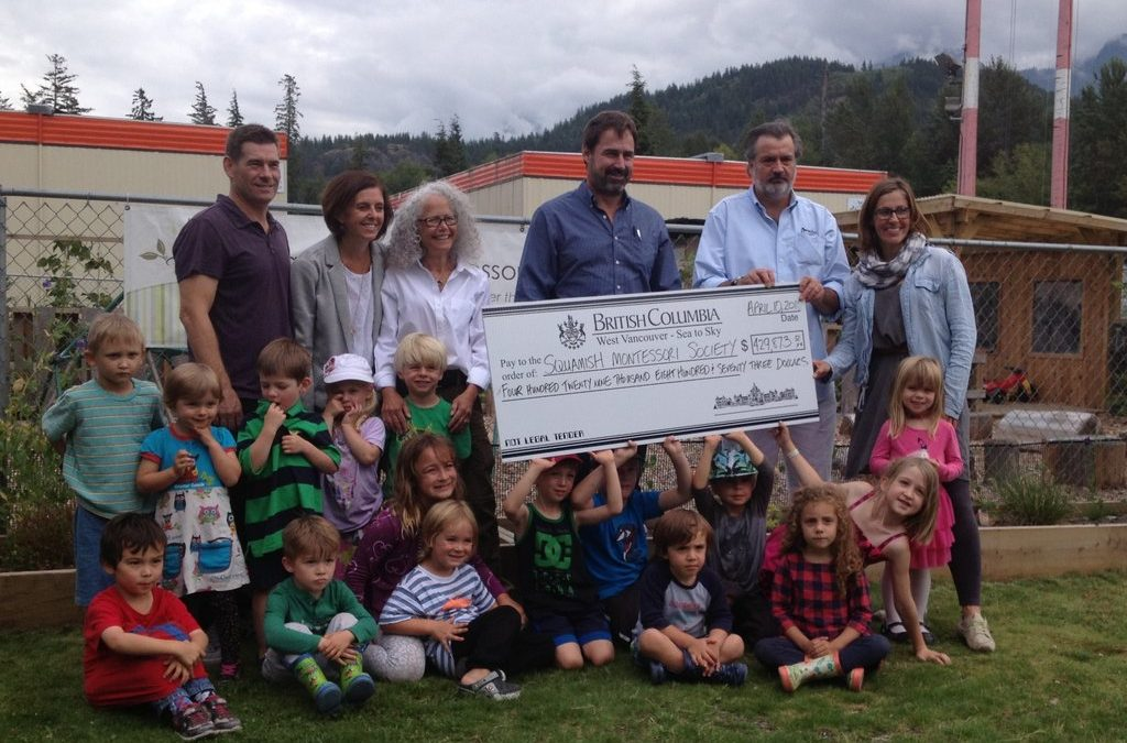 50 daycare spaces coming to Squamish Montessori Elementary School