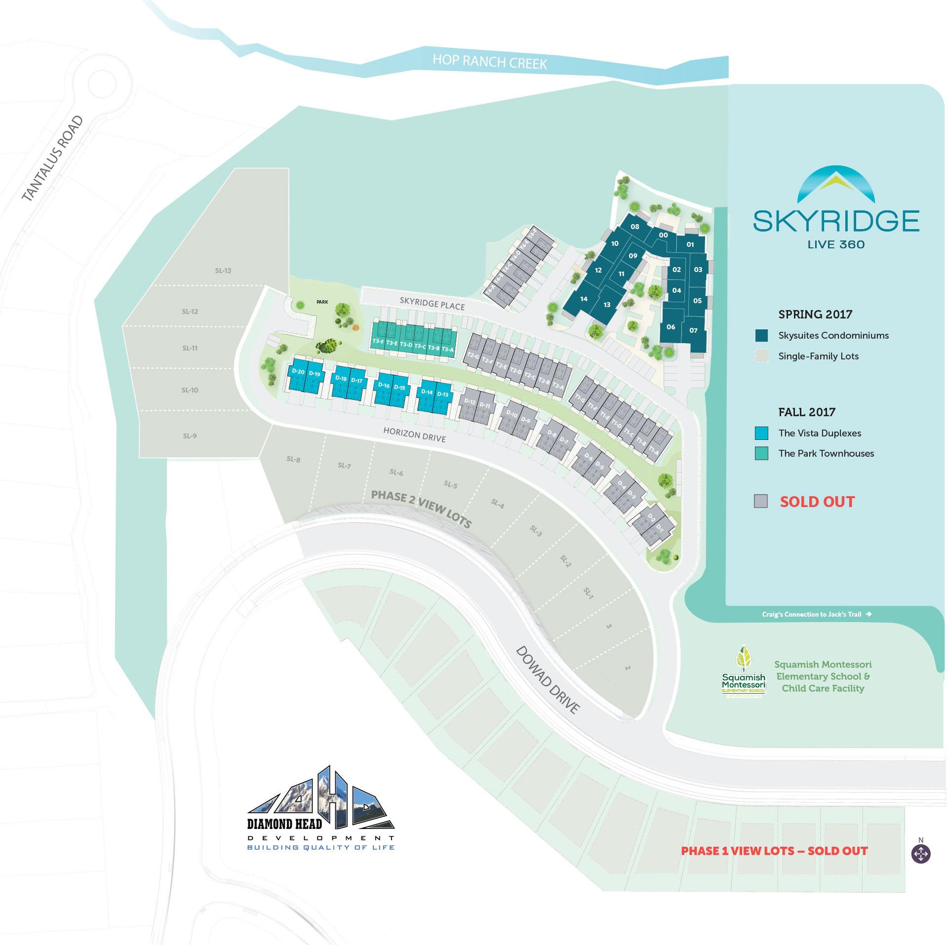 Skyridge Site Plan